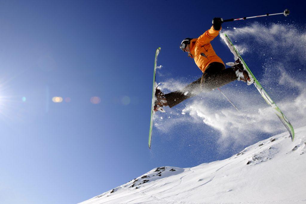 Image about ski adamello passo tonale ponte di legno