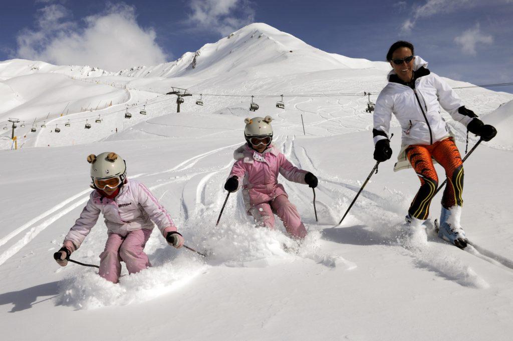 Image about scoala ski passo tonale ponte di legno
